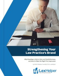 Strengthen the brand of your Law Practice